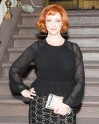 Christina Hendricks - MAX MARA Accessories Campaign launch party in NY 07/18/13