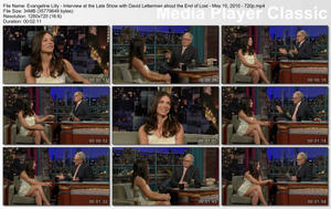 Evangeline Lilly on the end of Lost, David Letterman - May 10, 2010 - 720p