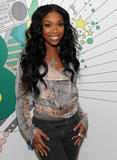 Brandy Norwood @ MTV TRL, October 29, 2008