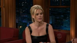 Alice Eve @ Ferguson  4/18/12 - Cleavage Caps