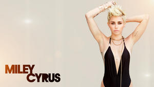 Miley Cyrus | Pokies - Cleavy Wallpaper | 1x | Billboard Mag