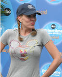 Andrea Parker - Baseball Cap & Tight T-shirt