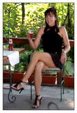Jelena Jankovic!! looks So0o Sexy with her legs Crossed in a minidress...MQx4