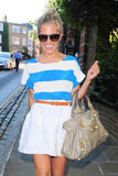 Mollie King | Arriving @ Peter Loraine's Birthday Party in Hampstead | July 24 | 12 leggy pics