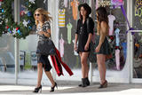 "AnnaLynne McCord , Jessica Stroup & Shenae Grimes | On the Set of ""90210"" in Santa Monica 