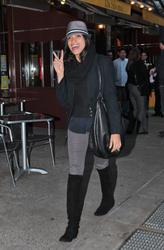 Розарио Доусон, фото 1464. Rosario Dawson leaves Da Silvano Restaurant in New York, december 23, foto 1464