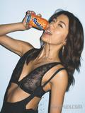 Battlestar Galactica babe Grace Park topless (covered with hands) in Complex Magazine -