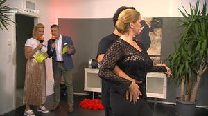 Maxi Biewer mit Tangotanz  ZDF HD Fernsehgarten 9.9.18